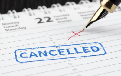 How To Deal With Cancellations as a Home Inspector